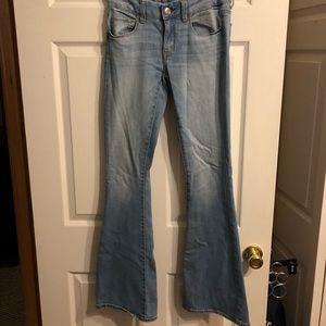 American Eagle Boho Flare Jeans